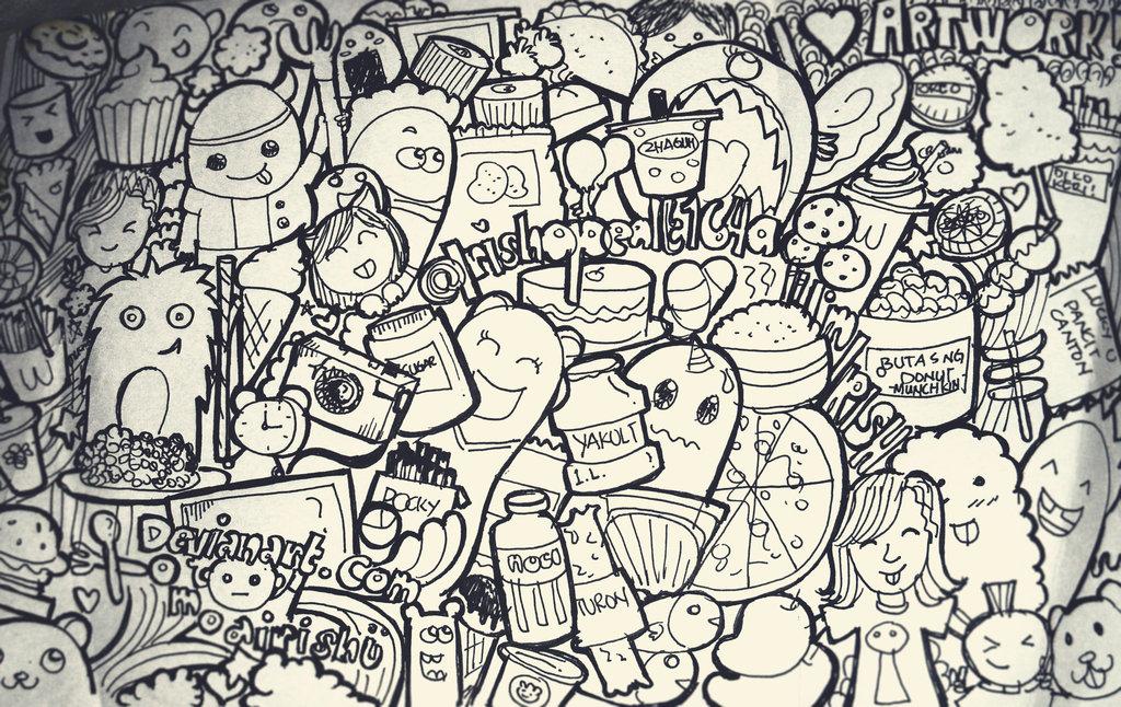 Doodling art